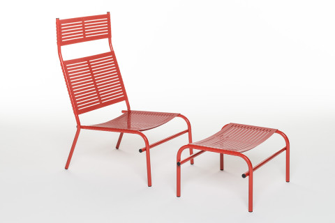 Lounge Chair & Foot Stool